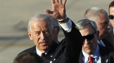 Biden begins talks with Israel