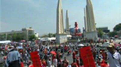 Thai red shirts defiant after protests