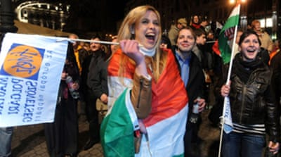 Centre-right wins Hungary polls