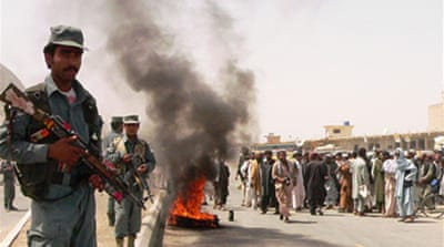 Nato killings spark Afghan protests