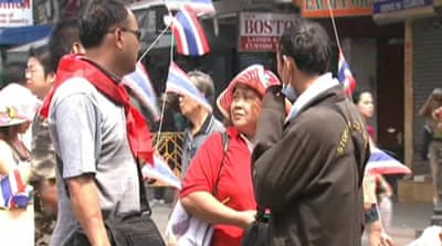 Protests take toll on Thai economy