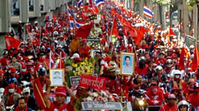 Call to dissolve Thai ruling party