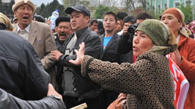 Shooting disrupts Kyrgyzstan rally
