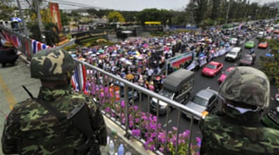 Thai PM boosts army security role