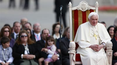 Pope: Church 'wounded by sin'