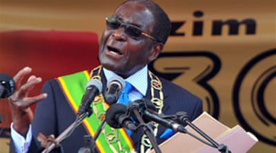 Mugabe urges end to violence