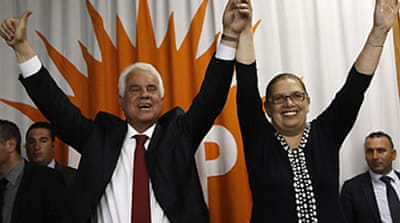 Hardliner 'wins' north Cyprus vote