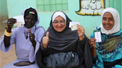 Sudan poll given a thumbs up