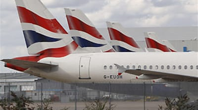 British Airways posts record loss