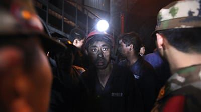 'Signs of life' in China mine
