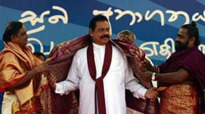 Sri Lanka leader appeals to Tamils