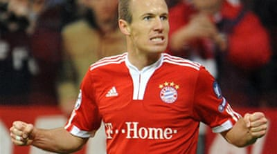 Robben does it again for Bayern