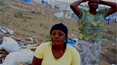 Haitians struggle for shelter