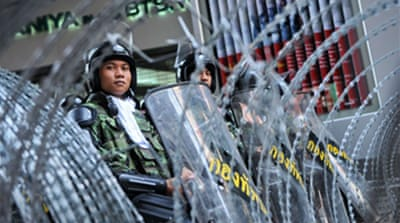 Thai army rules out crackdown