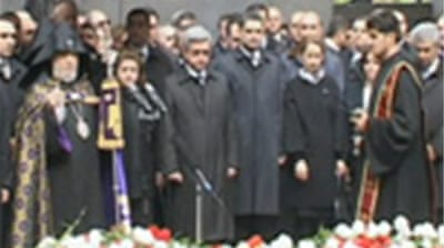 Armenians remember mass killings