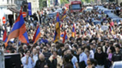 Armenians mark mass killings