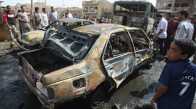 Wave of bombings hits Iraq