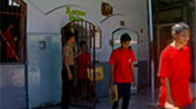Indonesia juveniles in adult jails