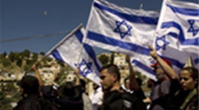 Scuffles at Jerusalem protest