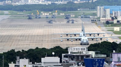 Japan PM backtracks on US base