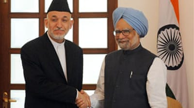 Karzai meets India on Taliban talks