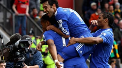 Chelsea 'in the driving seat'