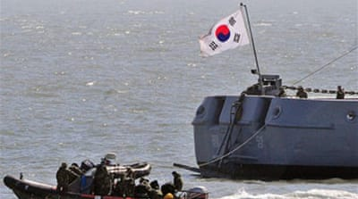 South Korea calls off naval rescue