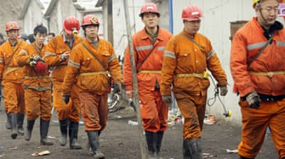 Last-ditch bid to save China miners