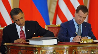 US and Russia sign nuclear pact