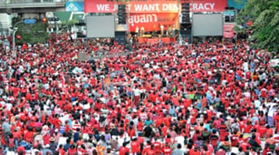 Red shirts plan biggest protest yet