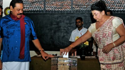 UPFA 'leading' Sri Lanka poll