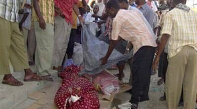 Dozens dead in Somali mosque blasts