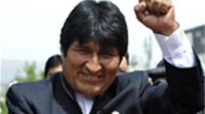 Indigenous Bolivians staged protests last year over fears the TIPNIS project could destroy their way of life