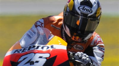 Six-guns fire at Spanish MotoGP