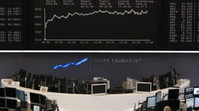 Stocks soar over EU rescue package