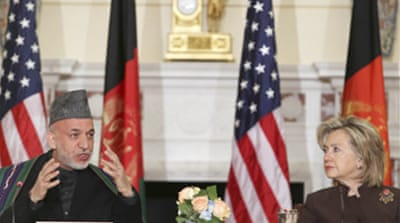 US 'committed to Afghan security'
