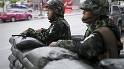 Thai troops to besiege protest site