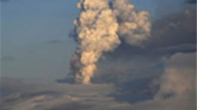 Volcanic ash threatens UK airspace