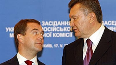 Medvedev backs IMF loan to Ukraine