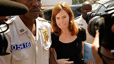 Haiti frees US 'child kidnap' woman