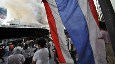Thai protesters accept mediation