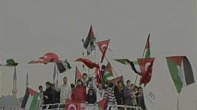 Convoy to end Gaza siege