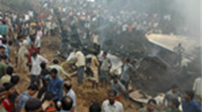 Air India jet crashes in Mangalore