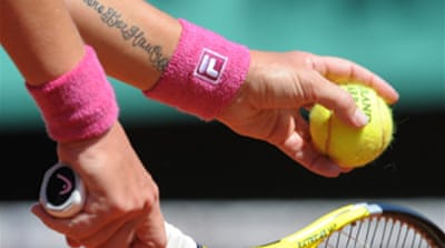 Champion Kuznetsova into round two