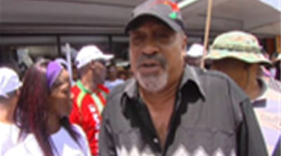 Suriname ex-president's win likely