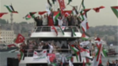 Gaza flotilla set to leave Turkey
