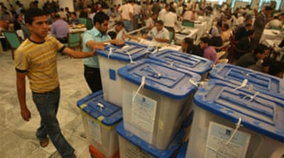 Baghdad manual vote recount begins