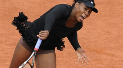 Petrova knocks Venus out of Open