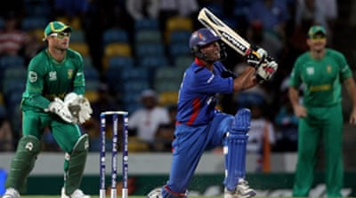 South Africa see Afghans out of cup