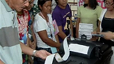 Philippine fears over machine poll